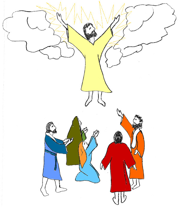 Bible Coloring Pages Cecilymae Jesus Transfiguration Page Hd Wallpapers Wca Earecom Press