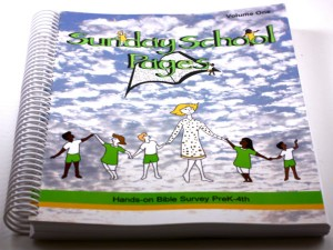 Sunday School Pages Bible Curriculum