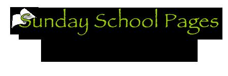 Sundayschoolpages title & sub