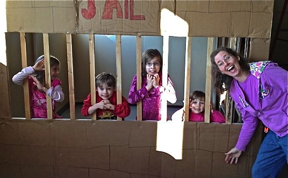 The 8' x 10' Jail of the Persecuted Church